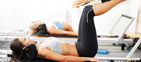 Pilates aparelho e solo